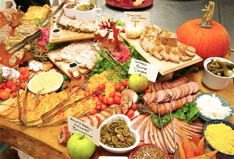 country lunch ideas toronto catering perfect rustic weddings en ville