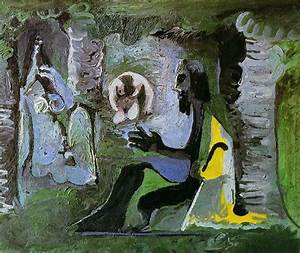 The Luncheon on the Grass - Pablo Picasso - WikiArt.org ...