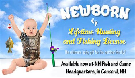 Temporary Boating License In Nh by Newborn Lifetime And Fishing Licenses Licensing