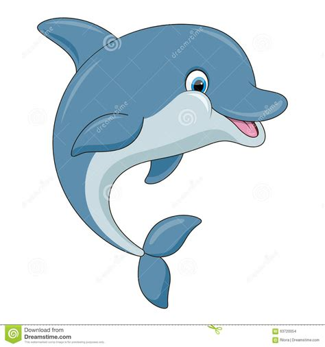 single color m m s dolphin vector illustration stock vector