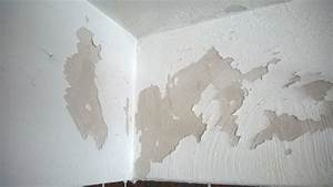 Verputzte Wand Streichen : wie abgebl tterte farbe berstreichen heimwerken streichen renovieren ~ Frokenaadalensverden.com Haus und Dekorationen