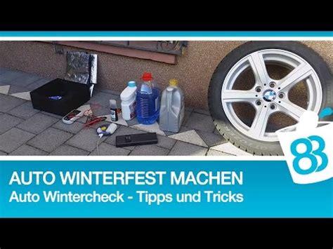 Garten Toilette Winterfest Machen by Auto Winterfest Machen Auto Wintercheck Tipps Und