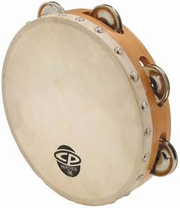 Latin Percussion LP CP378 Wood Tambourine Single Row ...
