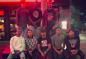 Photos: Lonzo Ball Wears Nas Tshirt   BSO