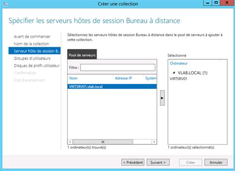 configurer bureau à distance windows 7 windows server 2012 configuration des services bureau