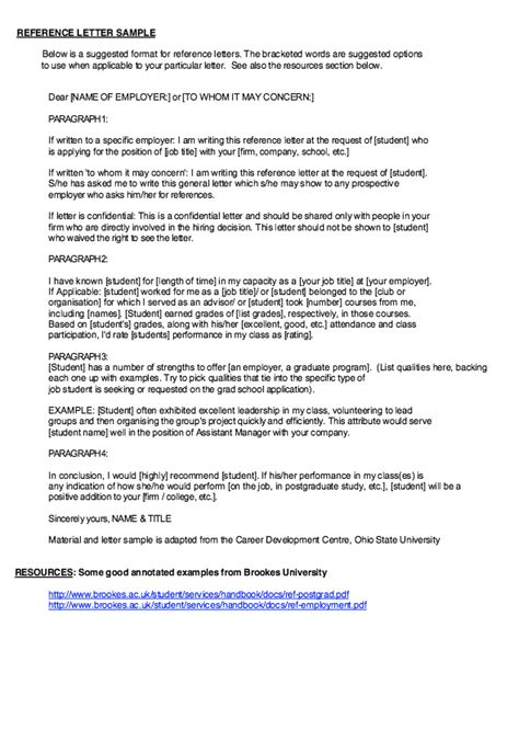 elementary student recommendation letter resume http