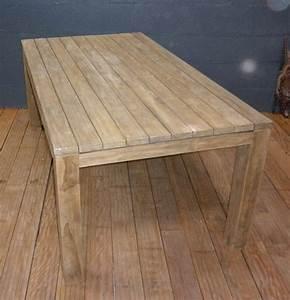 Table En Teck Jardin : table en teck jardin l 39 habis ~ Melissatoandfro.com Idées de Décoration