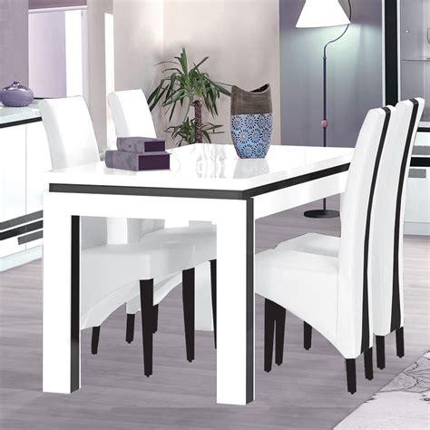 cuisine blanc laqué pas cher table et chaise cuisine pas cher 7 indogate salle a