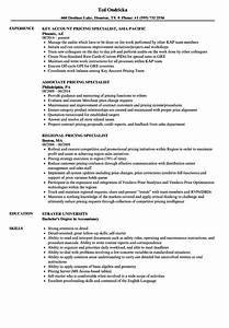 pricing specialist resume samples velvet jobs With resume prices