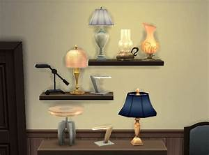 mod the sims table lamps anywhere With sims 2 floor lamp
