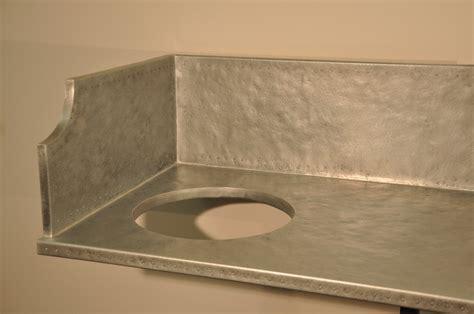Zinc Countertops   Brooks Custom
