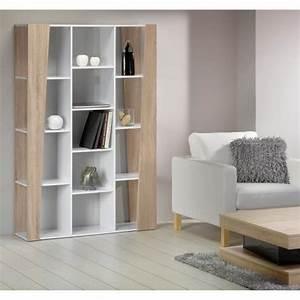 Meuble Bibliothèque Bois : touch etag re biblioth que meuble 180cm blanc achat vente meuble tag re touch etag re ~ Teatrodelosmanantiales.com Idées de Décoration