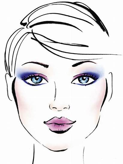 Face Charts Makeup Beauty Create Eve Paper