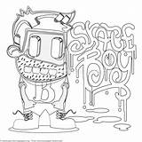 Coloring Pages Cartoon Funny Character Mermaid Little Getcoloringpages Silhouette Characters Sheets Outline Books Adult Adults sketch template