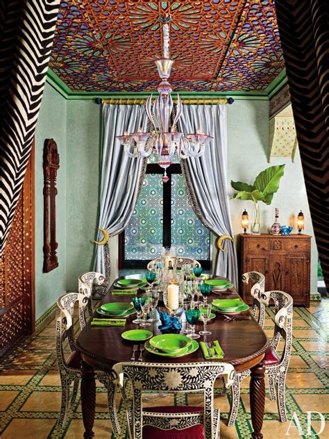 Exotic Dining Room By Tw Black Inc  Ad Designfile Home