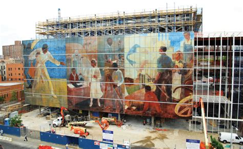 Harlem Hospital Mural Pavilion Address by Ce Center More Than One Way To Skin A Building