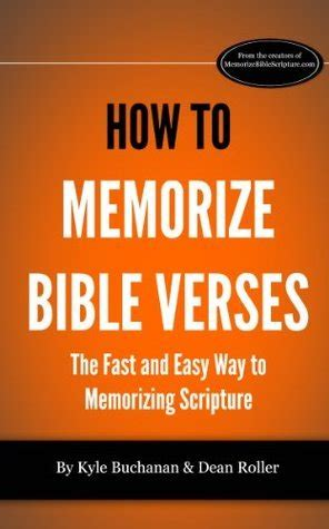 memorize bible verses  kyle buchanan reviews discussion bookclubs lists