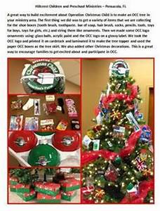 Operation Christmas Child display ideas Google Search