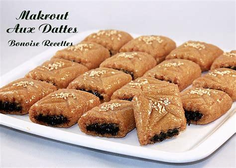 cuisine marocaine makrout aux dattes recette makrout frit