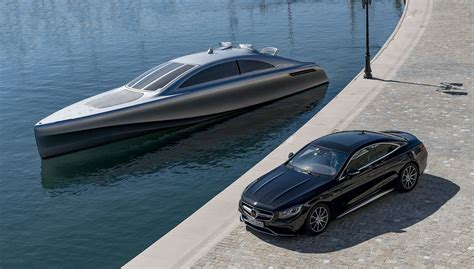 mercedes silver arrow marine yacht  review  car