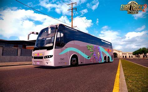 bus volvo  luxury  interior   ets mods scs mods euro truck simulator