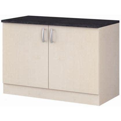 meuble cuisine bas 120 cm meuble bas 120 cm grain de sel achat vente elements