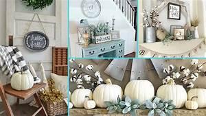 Chic Home Living : diy rustic shabby chic style fall decor ideas home decor ~ Watch28wear.com Haus und Dekorationen