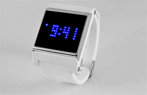 Blue Led Touch Screen Wrist Watch