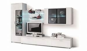 Meuble Tv Complet : meuble design et contemporain pour salon moderne salle a ~ Teatrodelosmanantiales.com Idées de Décoration