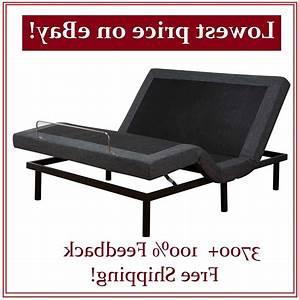 Full Size Electric Bed Frame Adjustable Base Massage