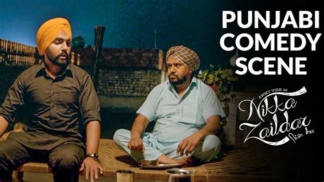 Punjabi Comedy Scene First And Last Date Ammy Virk