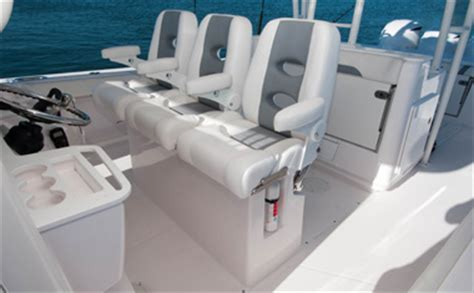 Boat Bench Seat Center Console by 435 Center Console Island Yacht