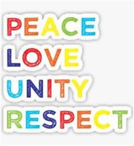 Plur Peace Love Unity Respect: Stickers   Redbubble