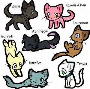 Minecraft MyStreet Characters As Cats By Butterfly1200 On