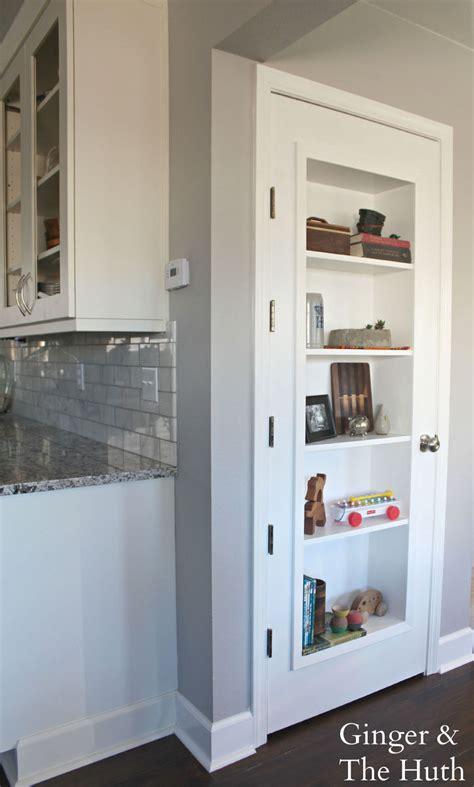 hometalk diy bookshelf door