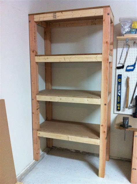 Rustic Garage With Garage Storage Shelves Lowes Ideas