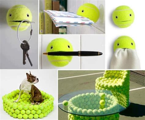 recycled arts and crafts ideas 30 creative design ideas to reuse and recycle tennis balls 7089