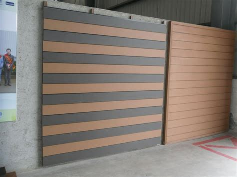 design wpc wall cladding  custom length wall