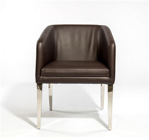 dining chair with stainless steel legs contemporary