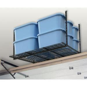 hyloft        ceiling storage unit  black