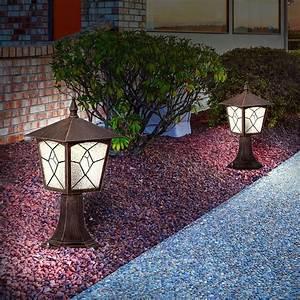 Led Laterne Garten : led garten beleuchtung veranda terrassen au en lampe laterne steh stand leuchte ebay ~ Whattoseeinmadrid.com Haus und Dekorationen