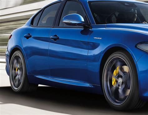Alfa Romeo Giulia Veloce  Du Muscle Pour Le Mondial 2016