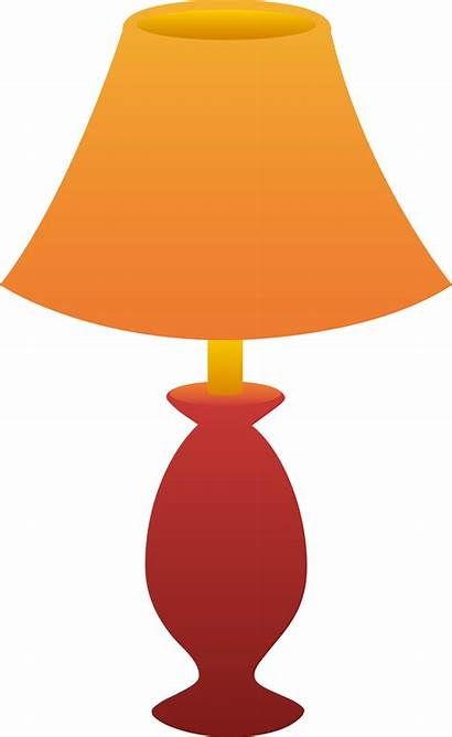 Clipart Shades Lamp Table Side Clipground Bedlamp