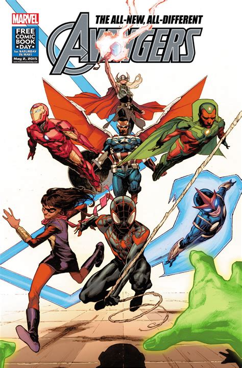 Miles Morales Joins The Allnew, Alldifferent Avengers