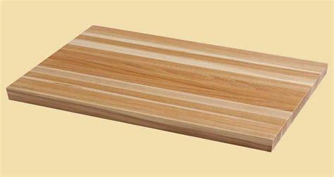Hickery Wood Hickory Wood Butcher Block Countertop X X