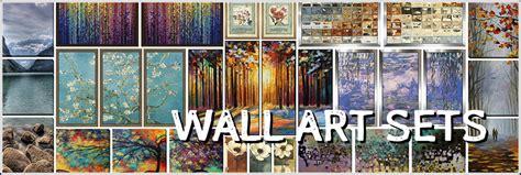 framed floral prints wall sets framed canvas