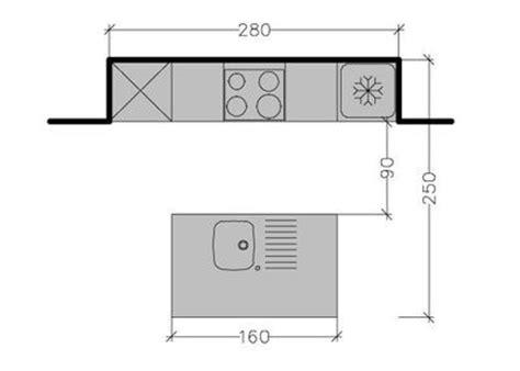 plan cuisine ouverte 9m2 7 plans pour une cuisine ouverte de 4 à 8 m2 côté maison