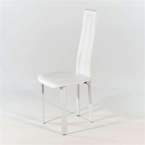 chaise salle a manger cuir chaise de salle à manger en croûte de cuir vegas 4