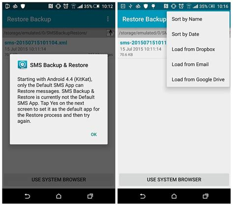 restore deleted texts android how to recover deleted text messages on your android phone