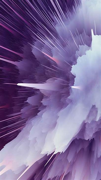 4k Ultra Purple Mobile Explosion Particle Wallpapers